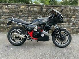Kawasaki GPZ 750 Turbo 1984 Black Non Standard Clean Bike