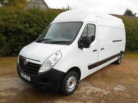 2014 14 RENAULT MASTER 2.3DCI EURO5 LWB EXTRA HIGH ROOF L3H5 1 OWNER