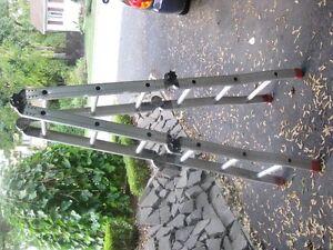 Featherlite échelle pliante aluminium 12 pi (4 sections)