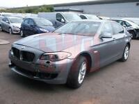 2012 BMW 520 2.0TD EfficientDynamics DAMAGED REPAIRABLE SALVAGE