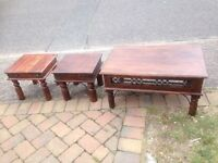 Indian solid wood tables
