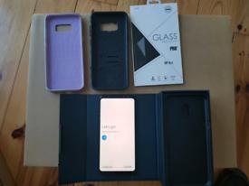 Samsung Galaxy S8+ S8 Plus G955F Black 64GB Unlocked TINY SCRATCH