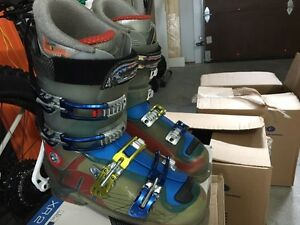 Botte de skis 10.5 salomon crossmax 50$