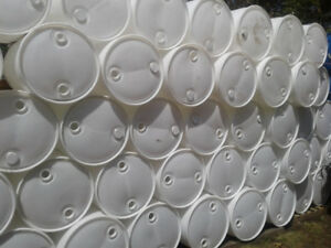 55 Gallon Closed Top Barrel Drum Plastic.