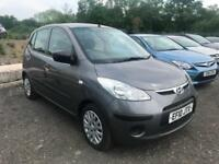 2010 10 Hyundai i10 Classic Petrol 5 Speed Manual Low Miles