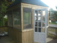 WE ARE A FULL SERVICE COMPANY(DECKS/GAZEBOS/SIDING/ROOFING)
