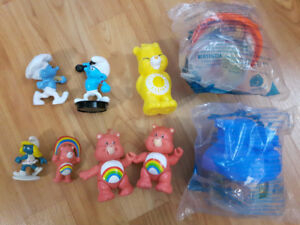 Care Bear and Smurf Figure Lot