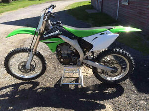 Kawasaki kx450f 4 speed with extras
