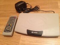 Sagem freeview box with remote