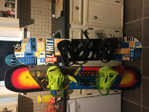 K2 and firefly snowboard (140-148cm)