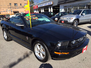 2007 Ford MUSTANG CONVERTIBLE....ONLY 49,000KMS...MINT COND.