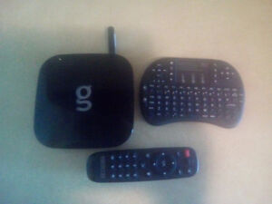 android box and mini keyboard