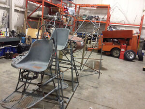 Airboat Frame Parts Cage and Rudders Seats Gauges