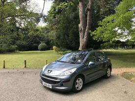 2006/56 Peugeot 207 1.4 16v 90 SE 5 Door Hatchback Grey
