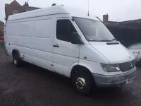 Mercedes-Benz 412D LWB + HIGH ROOF + PANEL VAN