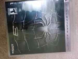 Spiderman 3 collectors edition PS3
