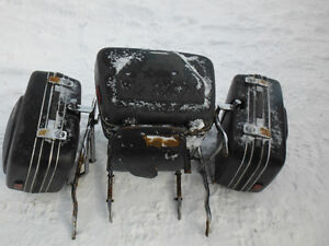 Hondaline Gold Wing Hard Bags, Carrier Rack, Back Rest and Trunk