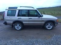 Landrover Discovery 2 XS TD5 Full year MOT