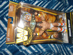 Ultimate Warrior WW Legends Series 4. Brand New in Box With BELT
