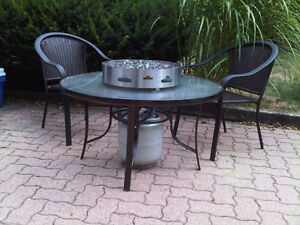 """Napoleon Patio  Flame _ New In Box-Gas """"Fire Pit"""""""