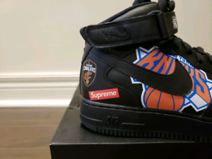 Supreme NBA Air Force 1 Size 11.5 Never Worn with Receipt