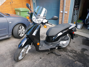 Scooter kymco people 200s 2008 comme neuf!!