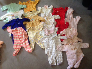 Baby clothes 0-9 months. 40+ items