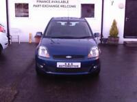 Ford Fiesta Zetec Blue 5 Door