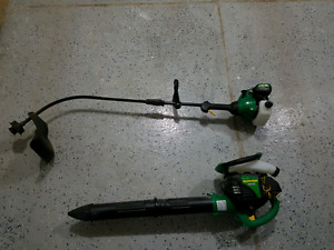 Forsale: Gas blower/mulcher  and Trimmer $200 for both