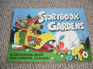 Collectible Storybook Gardens Coloring book by Ting London Ontario image 1