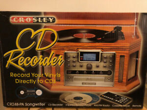 Crosley CD Recorder nearly new in box!