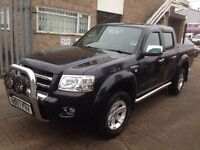 Ford renger 2007 2.2 diesel manual 4x4 f/s/h