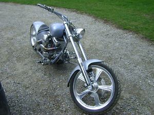 MOTOR CITY MEAN MACHINE CUSTOM BUILT CHOPPER
