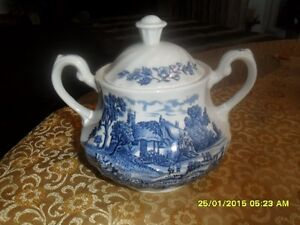 Dishes/Royal Essex/Shakespear Country Blue London Ontario image 8