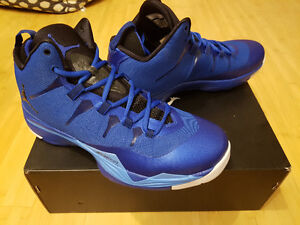NEW Nike Air Jordan Super Fly 2 Game Royal Blue shoes Sze 11 NIB