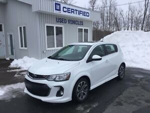 2018 Chevrolet Sonic LT ($58.85 Weekly)