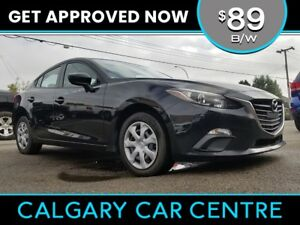 2014 Mazda3 $89B/W TEXT US FOR EASY FINANCING! 587-582-2859