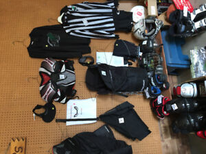 Hockey equipment — like new!!