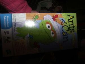 SESAME STREET ANTS IN THE CAN GAME--BRAND NEW