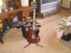 New SG Guitar - built by self.  One of a Kind