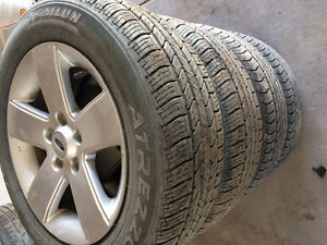 2008 Ford Fusion 16 inch rims&tires all season