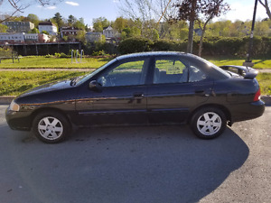 2001 Nissan Sentra GXE Sedan MAKE AN OFFER