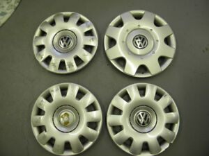 FREE - VW Wheelcovers (OEM) - 3 X 14'', 1 X 15'' Hubcaps - FREE