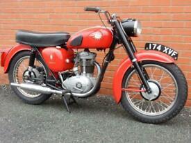 BSA C15 Star 250cc 1961 BSA Owners Club Certificate