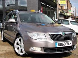 2010 SKODA SUPERB 2.0 TDI CR DPF ELEGANCE DSG 5DR ESTATE AUTOMATIC DIESEL ESTAT