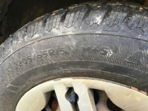 205/65R15 studded winter tires
