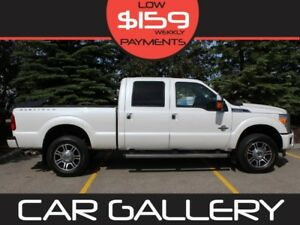 2016 Ford F-350 Super Duty PLATINUM Diesel w/Leather, Sunroof, N
