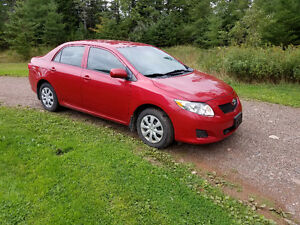 2009 Toyota Corolla  LOW KMS!!!!No Rust!!!!