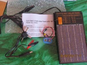 NEW universal Solar battery charger and AC portable adapter West Island Greater Montréal image 3