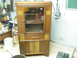 (REDUCED TO $185)Art Deco China Cabinet